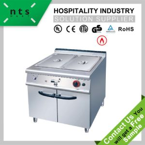 Gas Bain Marie with Cabinet for Hotel & Restaurant & Catering Kitchen Equipment pictures & photos