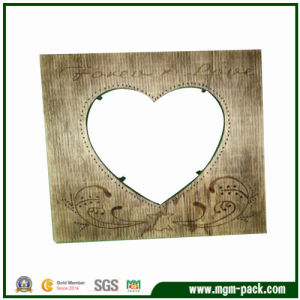 Factory Price Rectangle Brown Wood Picture Frame pictures & photos