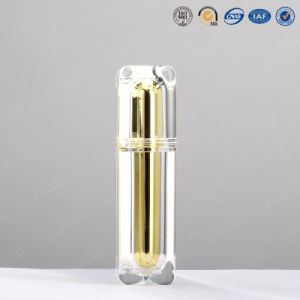 30ml Plastic Luxurious Gold Cosmetic Bottle