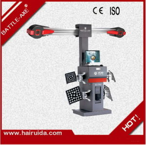 Battle-Axe High Precise Wheel Alignment Machine 3D-708X with 2PCS 5 Mega Cameras Under Competitive Price for Tyre Service Equipment Center