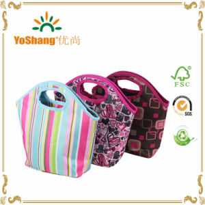 Promotional New Design Tote Cooler Polyester Lunch Bag pictures & photos