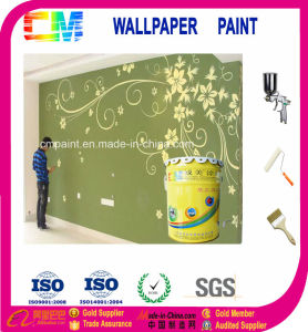 Muti-Flower Shape Art Wall Design Paint