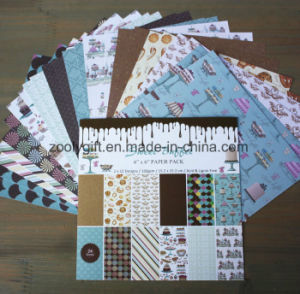 Custom 6X6inch Custom Printing Scrapbooking Paper Pad pictures & photos