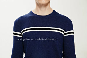 Men Winter Cotton Stripted Knitwear Sweater pictures & photos