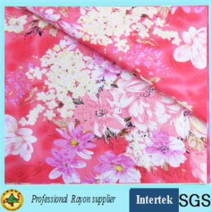 Rayon Printed Dress Fabric Made by Air Jet Loom pictures & photos