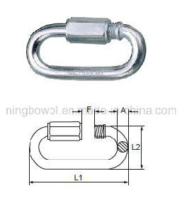 Zinc Plated Hook/ Quick Link