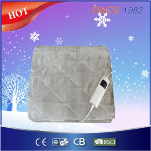 Best Polyester 220-240V Electric Overblanket/Heating Throw with GS Ce CB RoHS pictures & photos