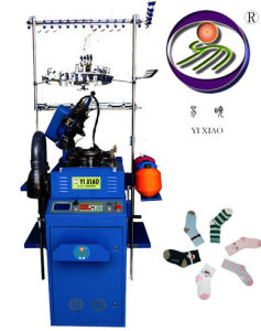 Single Cylinder Computerized Jacquard Socks Knitting Machine