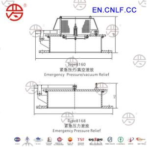 Lf-8160 Emergency Pressure/Vacuum Relief Valve