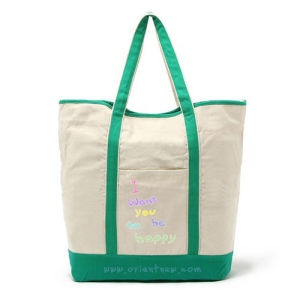 Eco-Friendly Cotton Canvas Tote Bag
