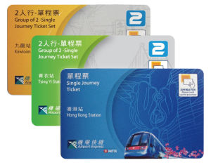 Thin RFID Card for Public Transportation Payment