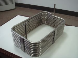 Stainless Steel Square/Rectangular Coiled (coil) Pipe/Tubes/Tubings pictures & photos