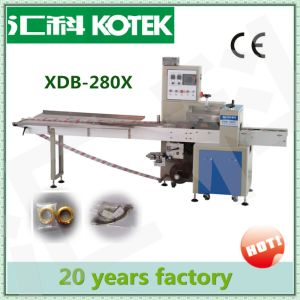 China Factory Price Pillow Bag Pack Keropok Lekor Packaging Equipment Horizontal Flow Confectionery Packing Machine