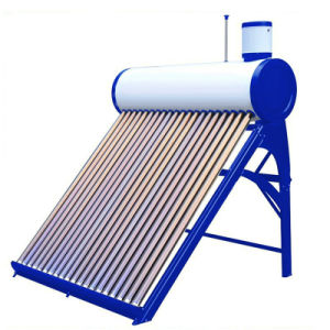 Low Pressure Solar Water Heater with Assistant Tank (150710) pictures & photos