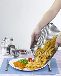 High Temperature Resist Non Stick Oven Chip Tray pictures & photos