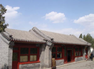 gray clay tiles unglazed for traditional chinese roof house