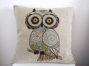 Cotton Linen Square Decorative Throw Pillow Case Cushion Cover