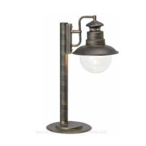 Outdoor Iron Stand Lighting with Big Glass Cover pictures & photos