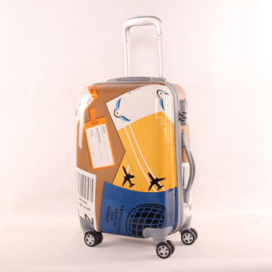 Size : 22 inches ABS+PC Material Suitcase Suitcase Trolley Case Universal Wheel Lock Box