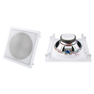 6W 5.25 Inch Full Range Square Speaker Ceiling Wall Mount Speaker (R151-8T) pictures & photos