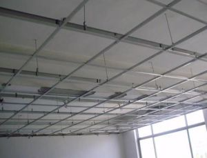 Suspended Ceiling T Grids For The PVC Ceiling Installation