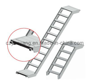 Ringlock Scaffolding System-Aluminium Step Stair with Light Weight pictures & photos