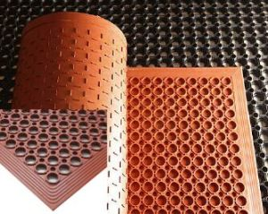 Anti Resistant Workshop Rubber Matting