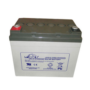 AGM Gel Storage Battery 12V 33ah with Ce UL Cetificate