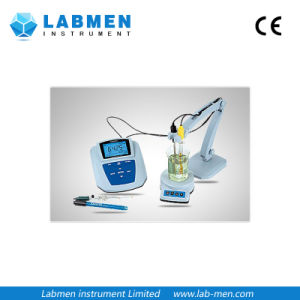 Bench-Top Lab pH Meter with Plastic pH Combination Electrode pictures & photos