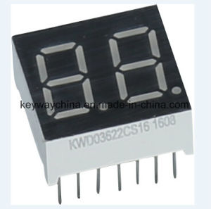 Keyway Dual-Digit LED Display pictures & photos