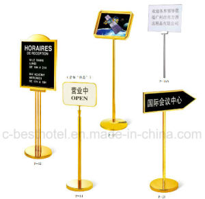 fashion Outdoor Sign Board Hotel Lobby Sign Board pictures & photos