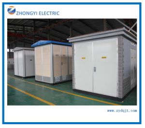 Customized Modular Box-Type High Voltage Electrical Substation with Transformer Chamber pictures & photos