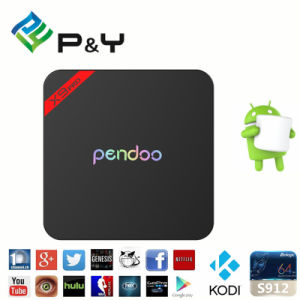 Amlogic S912 Octa Core Pendoo X9 PRO TV Box pictures & photos