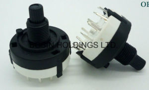 Factory Supplier Best Price for for 26mm Rotary Route Switch, 8 Position pictures & photos