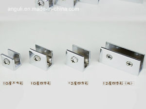 Square Stainless Steel Glass Shelf Clamp pictures & photos