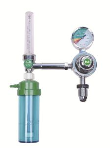 Oxygen Regulator with Flowmeter for Oxygen Gas Cylinder pictures & photos
