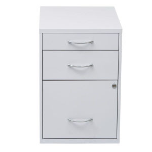 White File Cabinet with 3 Drawer pictures & photos