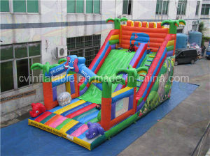 Giant Inflatable Tropical Slide, Slide Inflatable on Sales