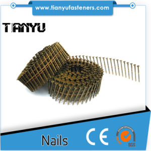 15degree Wire Coil Full Round Head Smooth Shank Roofing Nails pictures & photos
