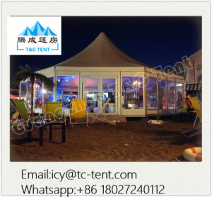 400 People Cumtomized Multi-Side Tent Party Wedding Tent with SGS