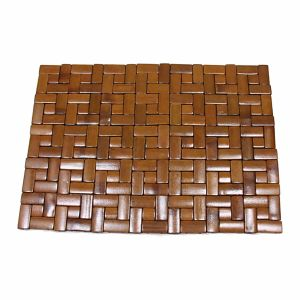 Block Bamboo Table Mat for Tabletop & Flooring