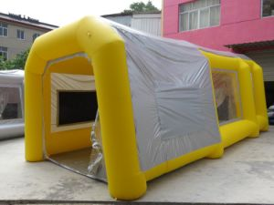 Customized Inflatable Painting Tent for Car pictures & photos