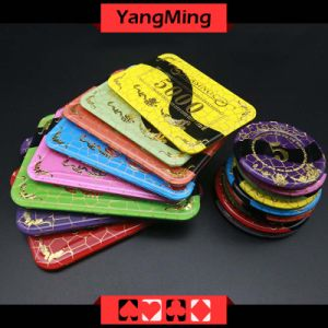 Anti - Counterfeiting Bronzing Poker Chip (YM-CP022-23) pictures & photos