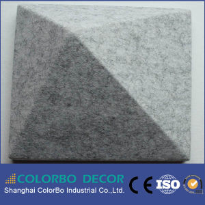 Acoustically Effective Polyester Fiber Soundproof 3D Panel pictures & photos