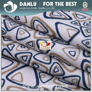 Polyester Twill Peach Skin Printed Fabric for Lining Use pictures & photos