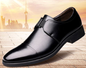 latest style of 2019 enjoy bottom price cheapest sale Mens Dress Shoes Sharp Toe Genuine Leather Casual Low-Cut Formal