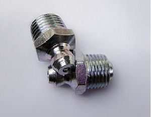 Machined Male Thread Bearing Hex Nipple Greaser
