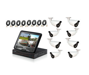 4 Channel/8CH 1.0MP/1.3MP /2.0MP Ahd Cameras & DVR Kit pictures & photos