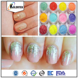 Colorful Cosmetic Glitters for Nails pictures & photos