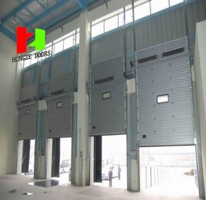 Electric Windproof Galvanized Steel Roller Shutter Door (Hz-FC035) pictures & photos
